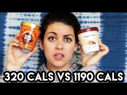 Thumbnail: 320 Calorie Ice Cream Vs. 1190 Calorie Ice Cream