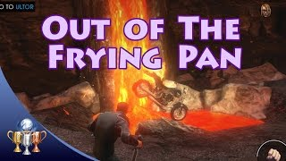 Saints Row Gat Out Of Hell Out Of The Frying Pan Knock A Vehicle Into The Lava