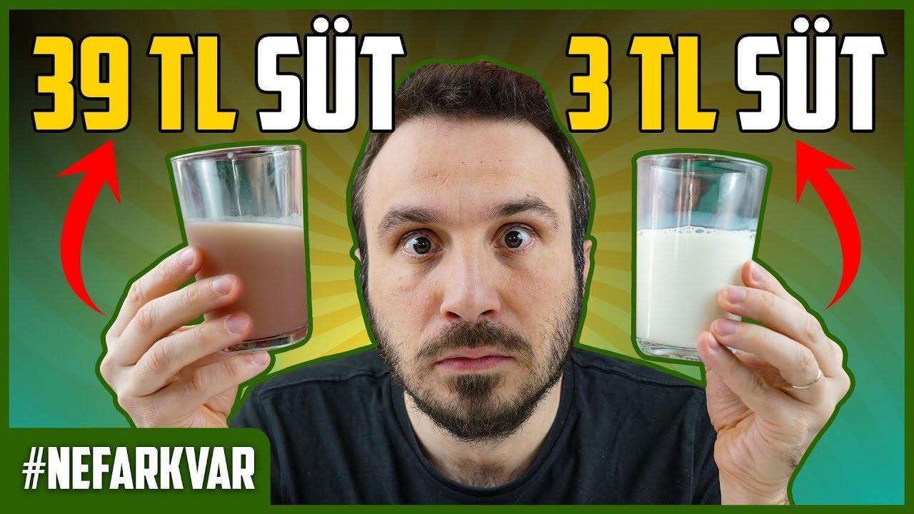 3TL SÜT vs. 39TL SÜT | #nefarkvar