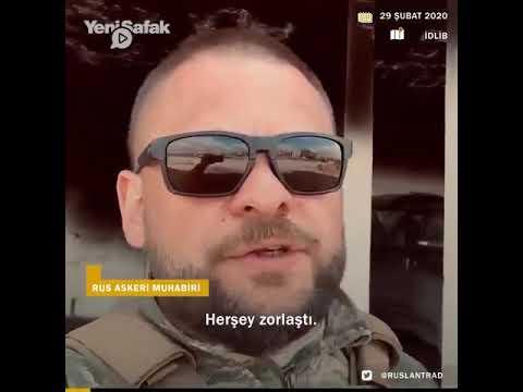 Rus Asker Türk SİHA'ları Anlattı