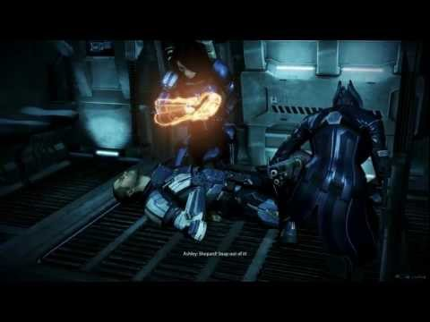 Mass Effect 3: Ashley Romance in Leviathan DLC