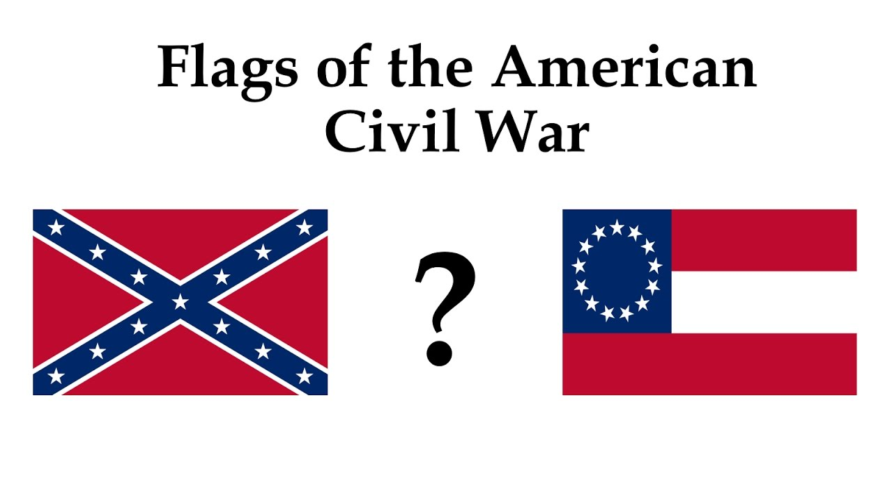 flags of the american civil war youtube