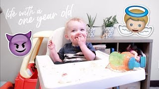 LIFE WITH A ONE YEAR OLD!