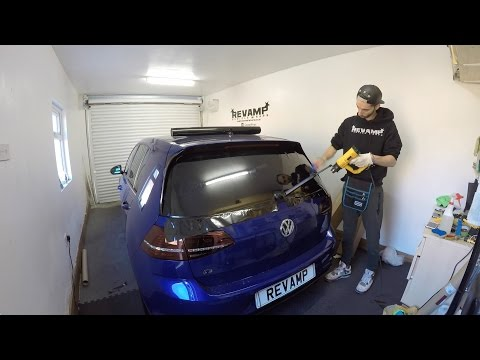 Golf R Gets Tinted!