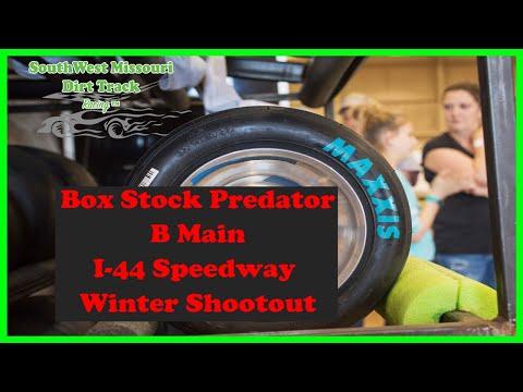 Box Stock Predator B Main  I 44 Speedway Winter Shootout 1 20 2018