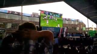 Irish fans in Cardiff go crazy for Japanese win against South Africa