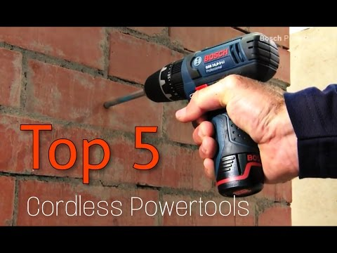 Top 5 Best Small Cordless Powertools - Bosch