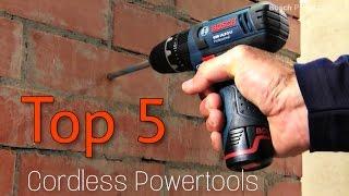 Top 5 Best small Cordless Powertools - Bosch