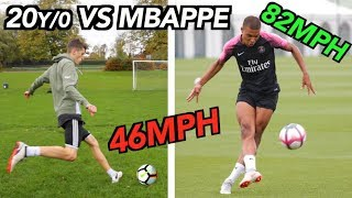 Kylian Mbappé VS Average 20 Year Old - How good ACTUALLY is he??