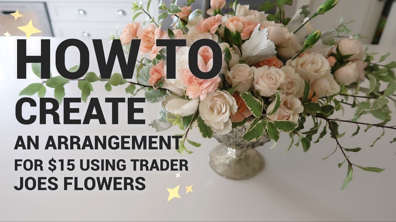 How to make a 15 flower arrangement with only trader joes flowers how to make a 15 flower arrangement with only trader joes flowers izmirmasajfo