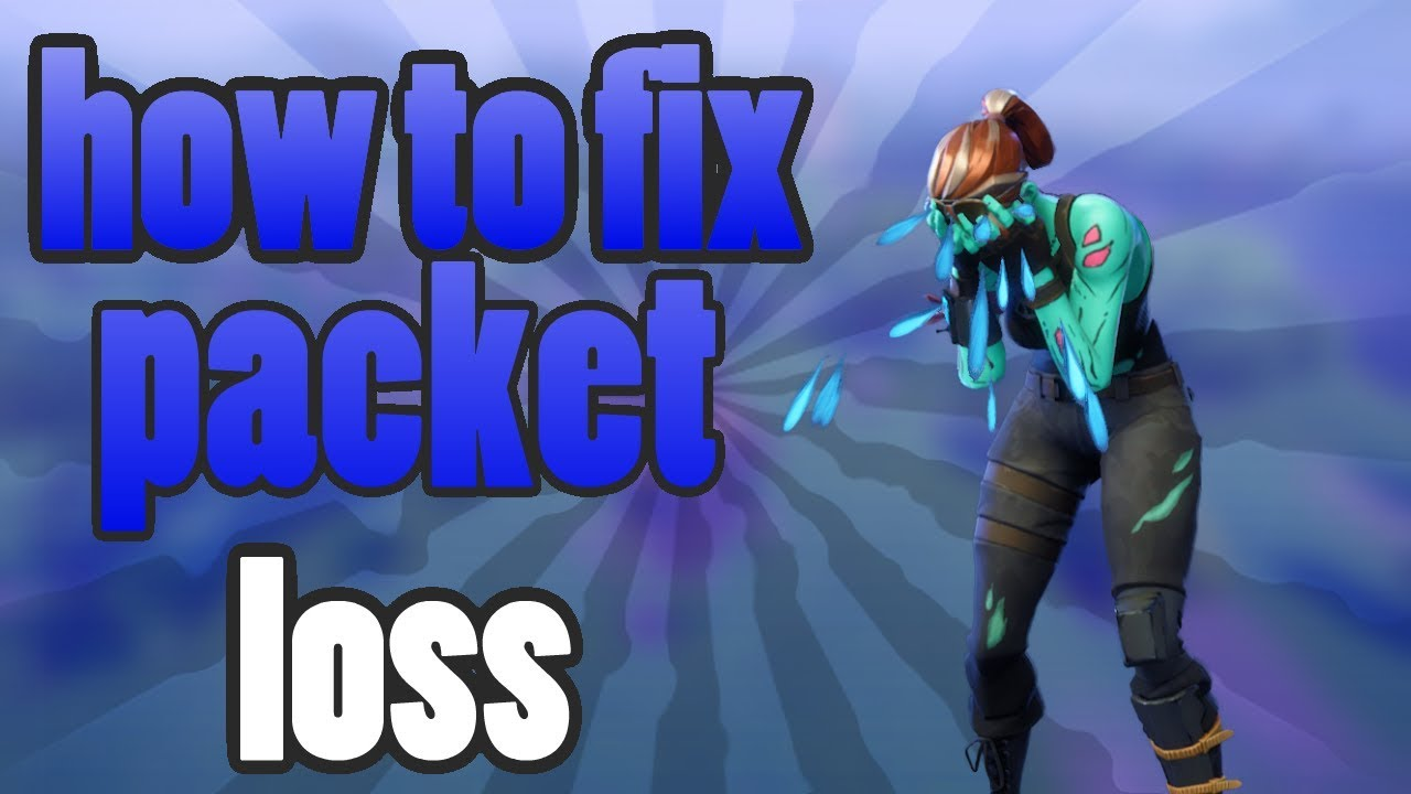 Fortnite - How to fix PACKET LOSS in creative