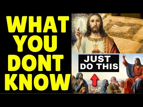 HIDDEN TEACHING OF JESUS CHRIST Reveals PRAYER TECHNIQUE For Effortless Manifestation INSTANTLY!!
