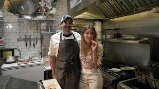 Eden Eats NYC, with chef Matt Hyland at Emily (cheeseburger)