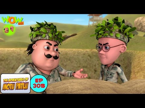 Army - Motu Patlu in Hindi WITH ENGLISH, SPANISH & FRENCH SUBTITLES thumbnail