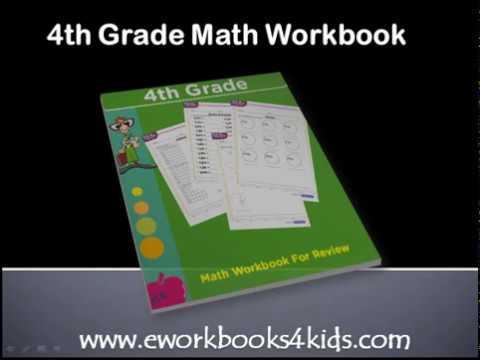 4th Grade Math Workbook Download   Pdf math ebook for kids