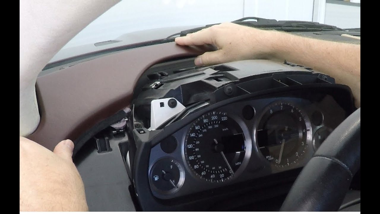 how to install the drivers side instrument dash panels into an aston