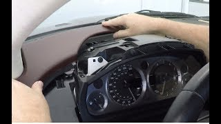 How to Install the Drivers Side Instrument Dash Panels into an Aston Martin DB9 or DBS