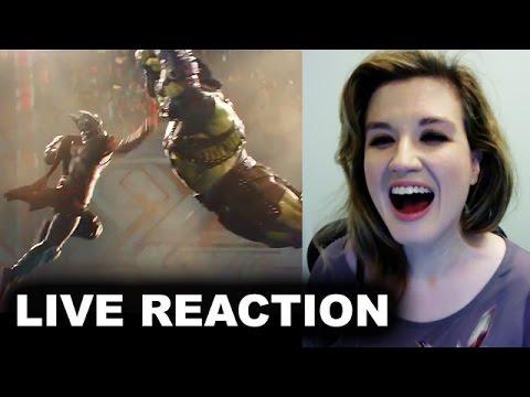 Thor Ragnarok Trailer REACTION