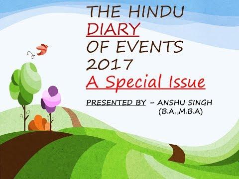 SPORT NEWS(THE HINDU) -2017 PART-1[JAN-JUNE]