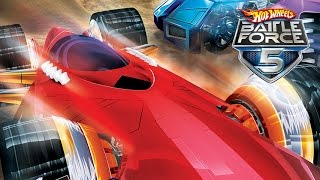 #8 Hot Wheels Battle Force 5 - Video Game - Gameplay - Videospiel - Game - Movie For Kids