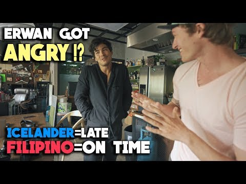Filipino Time vs. Iceland Time Explained (ft. Erwan Huessaff)