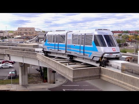 Jacksonville JTA Skyway Monorail