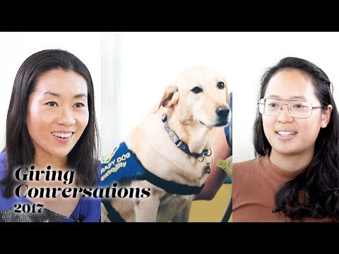 Maureen & Stasha (& Telly) | How our bond with animal helps.