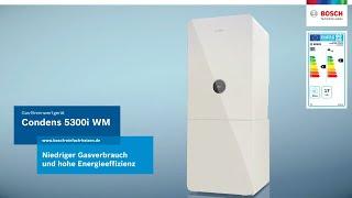 Einfach energiesparend: Die Condens 5300i WM von Bosch