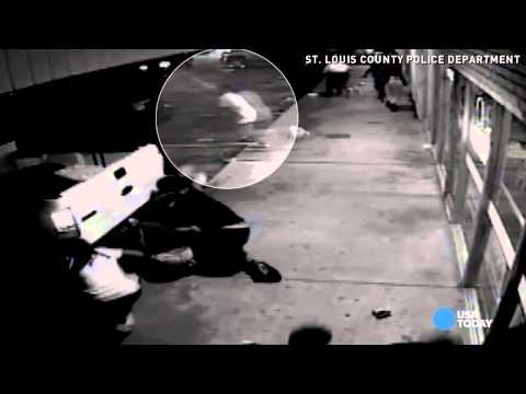 Police release video moments before Ferguson shooting