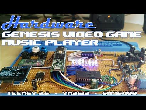 Sega Genesis Music Player V3 + MSX Player Preview!