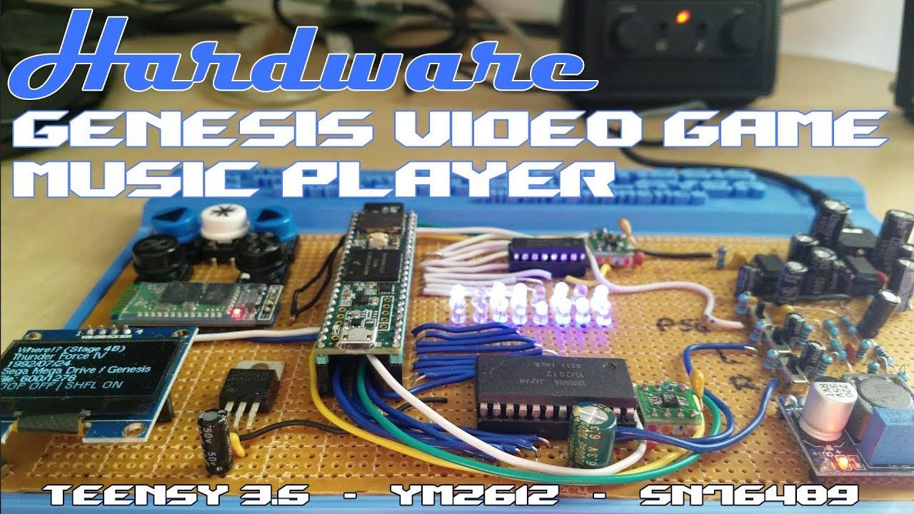 Sega Genesis Music Player V 3 (+ MSX Player Preview!)