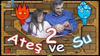 ATEŞ VE SU 2 - Bu kez ben Ateş Kafalıyım - Eğlenceli Oyun Videosu - Funny Games