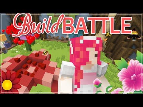 Minecraft BUILD BATTLE ♡ Flowers!