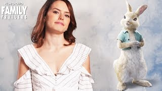 "PETER RABBIT | Daisy Ridley is ""Cotton-Tail"" in the Live-Action animated movie"