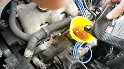 How to check engine oil on dipstick and fill oil