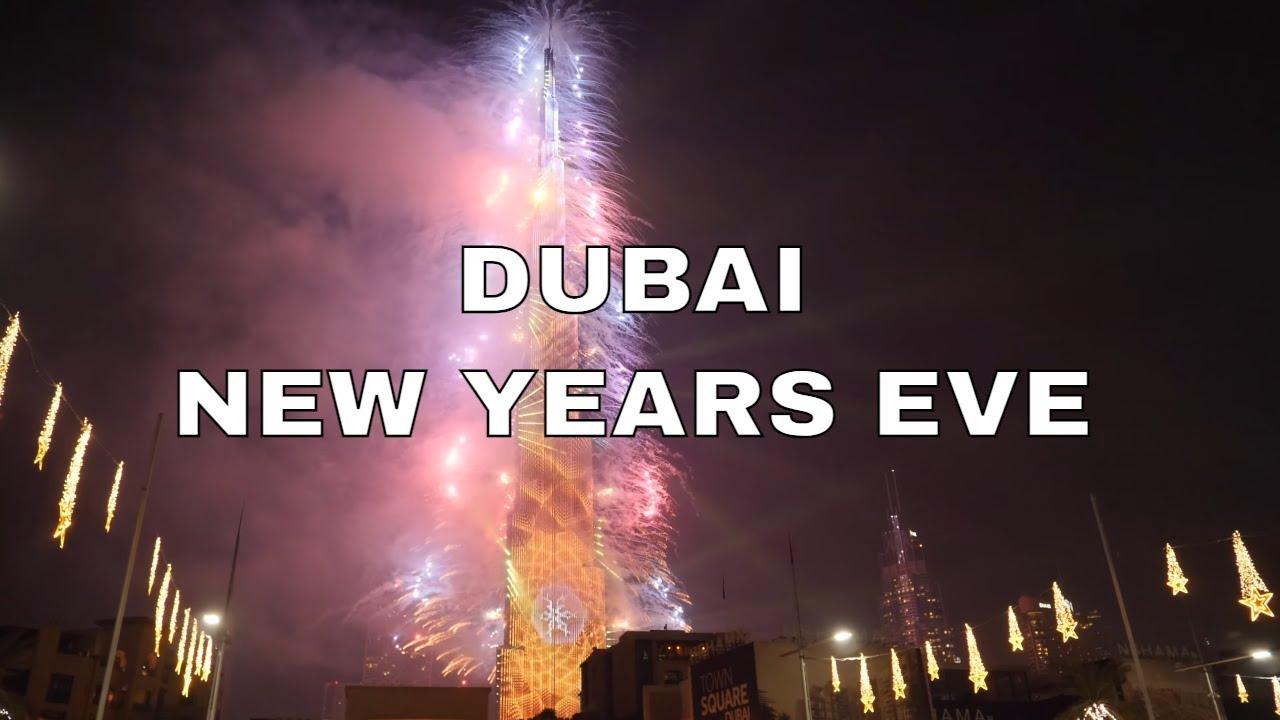 Dubai Burj Khalifa New Year S Eve Fireworks 2019 2020 Full Show 4k Youtube