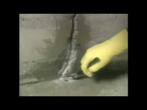 how to repair crack in basement wall youtube rh youtube com