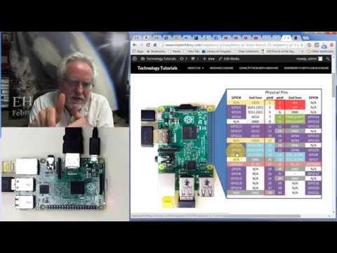 Raspberry Pi Linux LESSON 25: GPIO Pinout for the Raspberry Pi 2