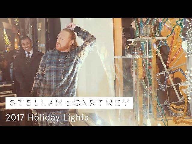 Keith Lemon turns on the Stella McCartney Holiday Lights | 2017
