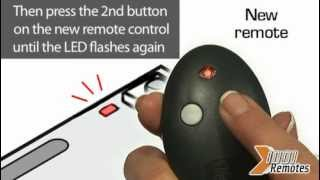 how to program your remote bft mitto