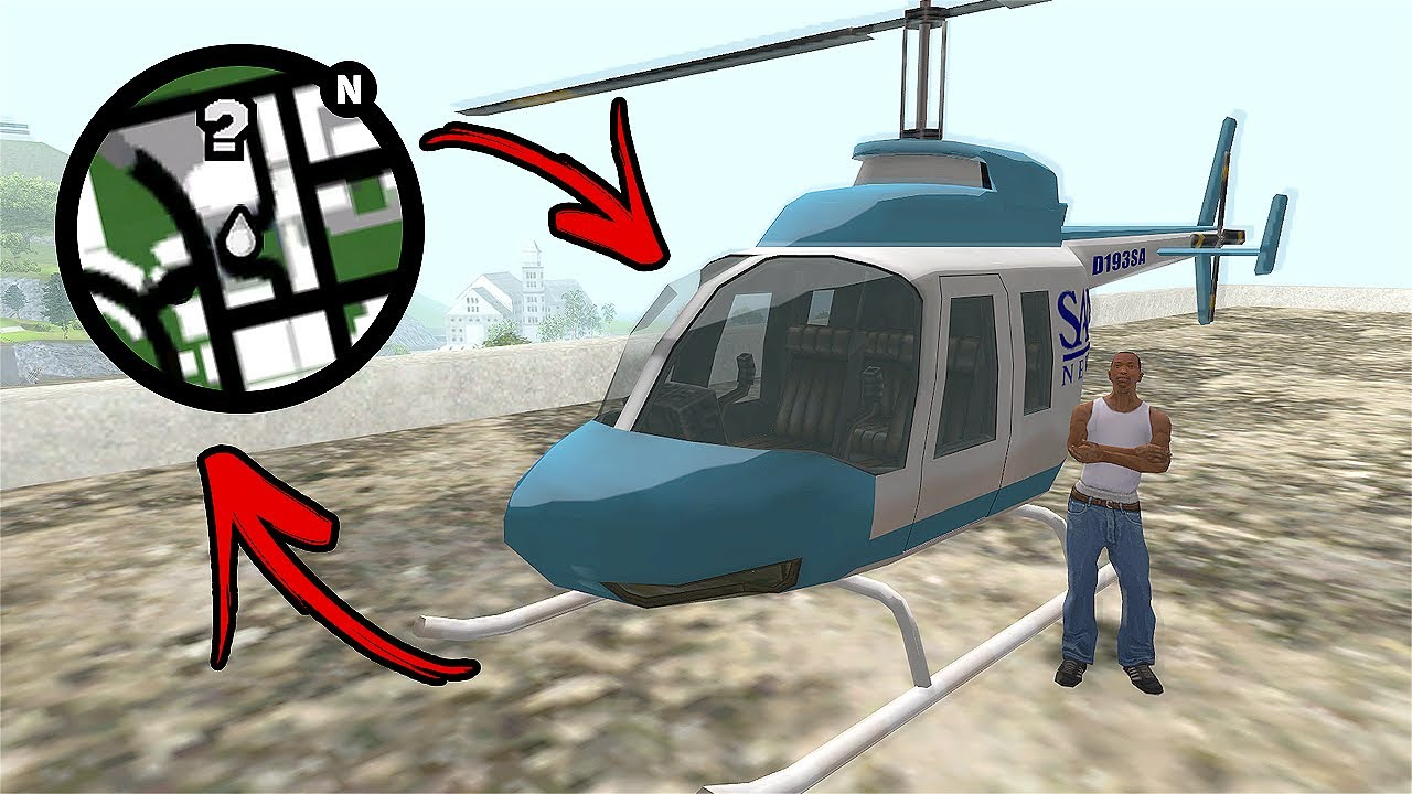 How Get The News Chopper At The Very Beginning Of The Game in GTA San Andreas?