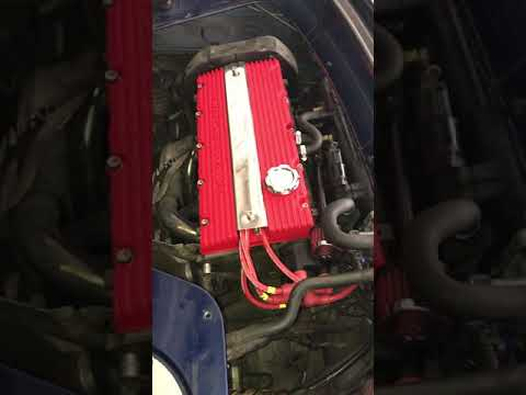 Idle running MGF Rover K-series Engine