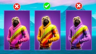 GUESS THE RIGHT SKIN - IMPOSSIBLE Fortnite battle royale