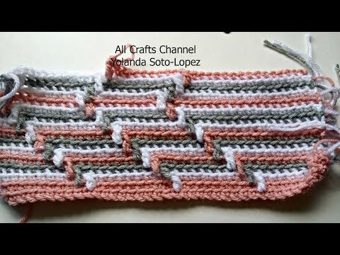 How to crochet Apache Tears pattern for blanket