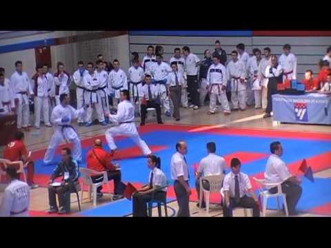 Kumite competicion gimnasio sankukai zaragoza youtube for Gimnasio zaragoza