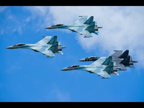 Соколы России на МАКС-2019 / Falcons Of Russia At MAKS 2019