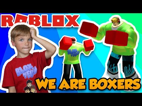 WE ARE STRONG BOXERS in ROBLOX BOXING SIMULATOR 2!