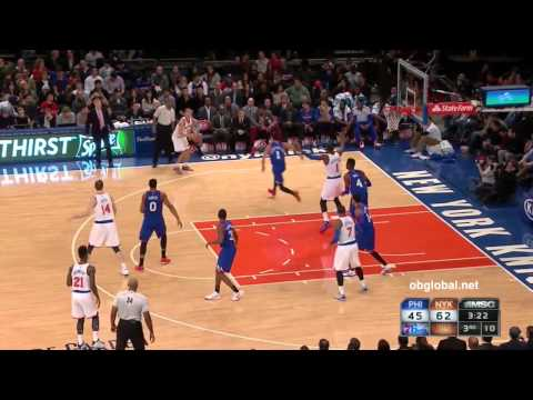 Knicks Assists VS 76ers - 11/22/14 Game 14