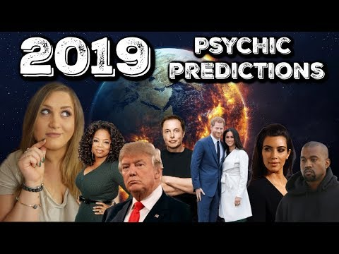 Psychic Predictions for 2019 + Reviewing 2018 Predictions!