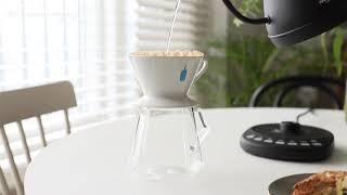 커피 내리기 좋은날 (하트만 핸드드립 전기포트 HK B…